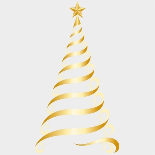 Helix Christmas Tree Vector Clipart Image Public Domain Clipart