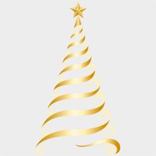 Helix Christmas Tree Vector Clipart Image Public Domain Clipart