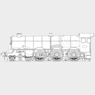 Rail Transport Diesel Locomotive Free Commercial Clipart - Diesel