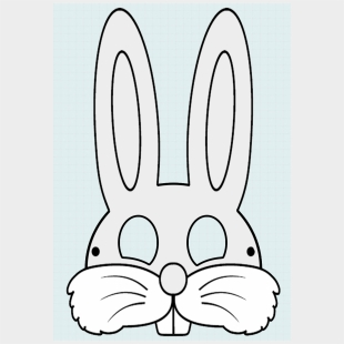 image about Printable Bunny Mask called Printable Easter Cliparts Cartoons For No cost Down load - Jing.fm