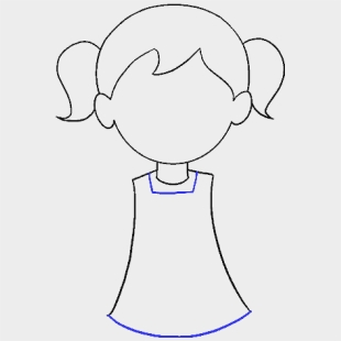 Free Easy Girl Drawing Download Free Clip Art Free Draw A