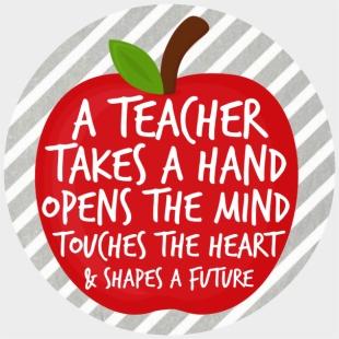 Happy Teachers Day Card Quotes , Transparent Cartoon - Jing fm