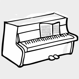 Piano Keyboard Chart Coloring Pages - Klavier Zeichnen ...