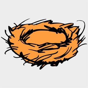 Free Vintage Clip Art Nest With Eggs - Bird Nest Clip Art - Free  Transparent PNG Clipart Images Download