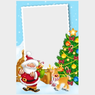 Dessin De Noel En Couleur A Imprimer Carte Pour Cadeau Noel