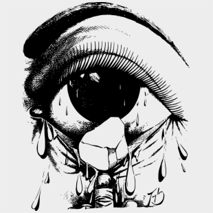 Teardrops Drawing Cry - Bfdi Characters , Transparent Cartoon - Jing fm