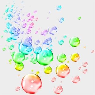 Bubble rainbow. Clipart transparent cartoon jing