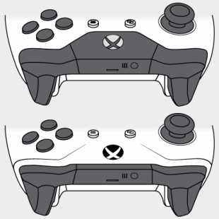 Xbox One S Controller Png - Xbox One S Controller Bluetooth