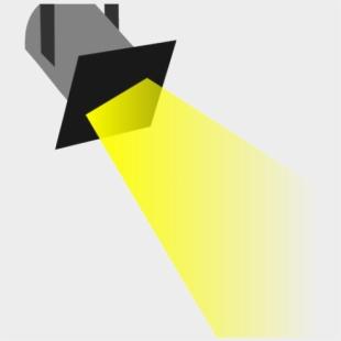 Spotlight graphic. Clip art royalty free