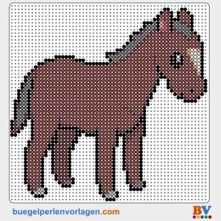 Pferde Schablonen Scherenschnitt Vorlagen