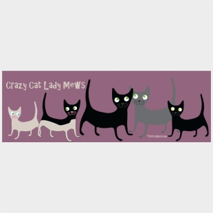 Free Crazy Cat Lady Cutfile Crafter File Poster Cliparts Cartoons Jing Fm