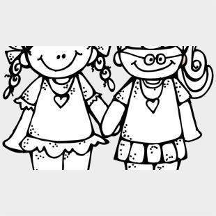 friends clip art black and white - Google Search | Art friend, Friends  clipart, Stick figures