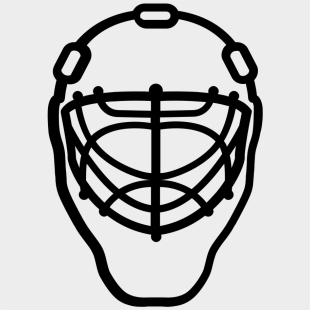 Hockey Clipart Goaltender Hockey Goalie Mask Cartoon Transparent
