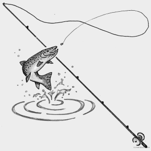 Fishing Tips, Gear, Bait, Lures   Free clip art, Art birthday, Free clipart  images