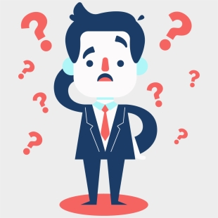 Clip Art Png Freeuse Huge - Man With Question Mark Icon Png, Transparent  Png - kindpng