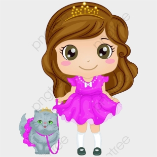 Brown Hair Girl Cliparts Cartoons For Free Download Jing Fm