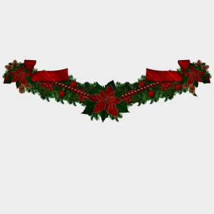 Christmas Garland Cliparts Cartoons For Free Download Jing Fm