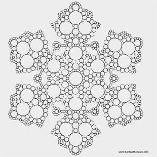 Free Printable Mandala Coloring Pages - Snowflake Mandala Coloring