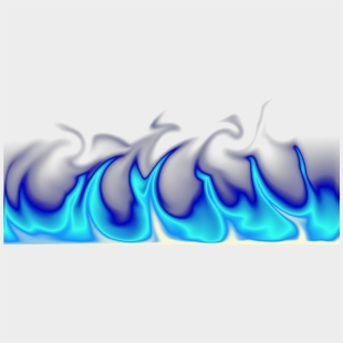 Blue Flame Png Pic Vector, Clipart, Psd - Transparent Background