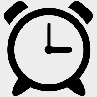 On, Start, Button, Icon, Back, Web - Alarm Clock 6am Transparent